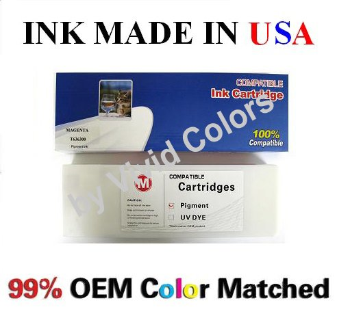 New 700ml Compatible ink cartridge for Epson Stylus Pro 7700/9700/7890/9890/7900/9900- Magenta(T6363)