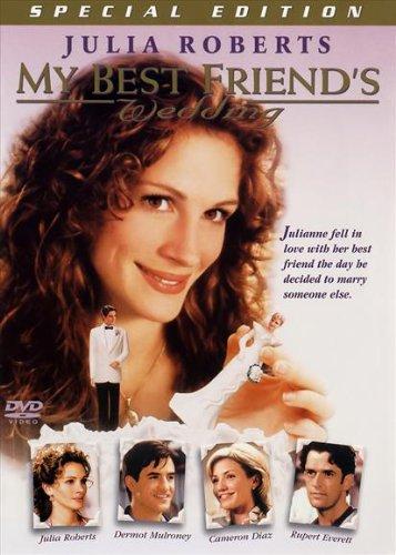 My Best Friend's Wedding Movie Poster (27 x 40 Inches - 69cm x 102cm) (1997) Style C -(Julia Roberts)(Dermot Mulroney)(Cameron Diaz)(Rupert Everett)(Philip Bosco)(M. Emmet Walsh)