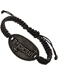 American Horror Story B*tchcraft Metal Pendant Pull Cord Bracelet