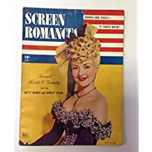 Screen Romances July 1943 Betty Grable Photo Cover