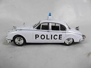 JAGUAR MKII POLICE 1:43 Car Model Die Cast Cars Diecast Toy Miniature Vintage