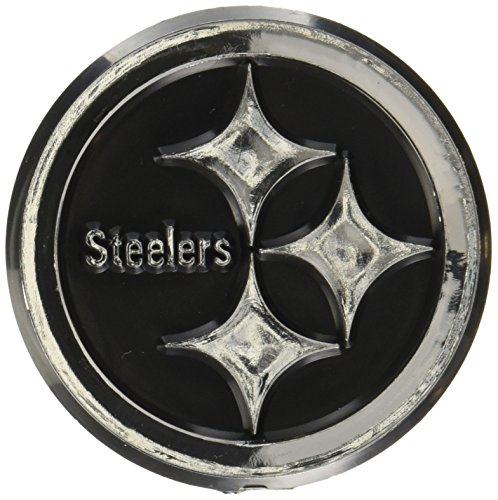 (NFL Pittsburgh Steelers Chrome Automobile Emblem)