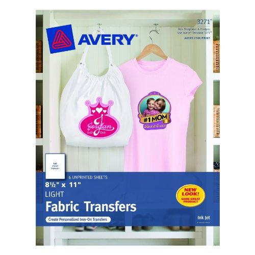 Avery T Shirt Transfers Printers 03271
