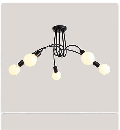 Araña Iluminación Creativa Personalizada Moderna Lámparas y ...