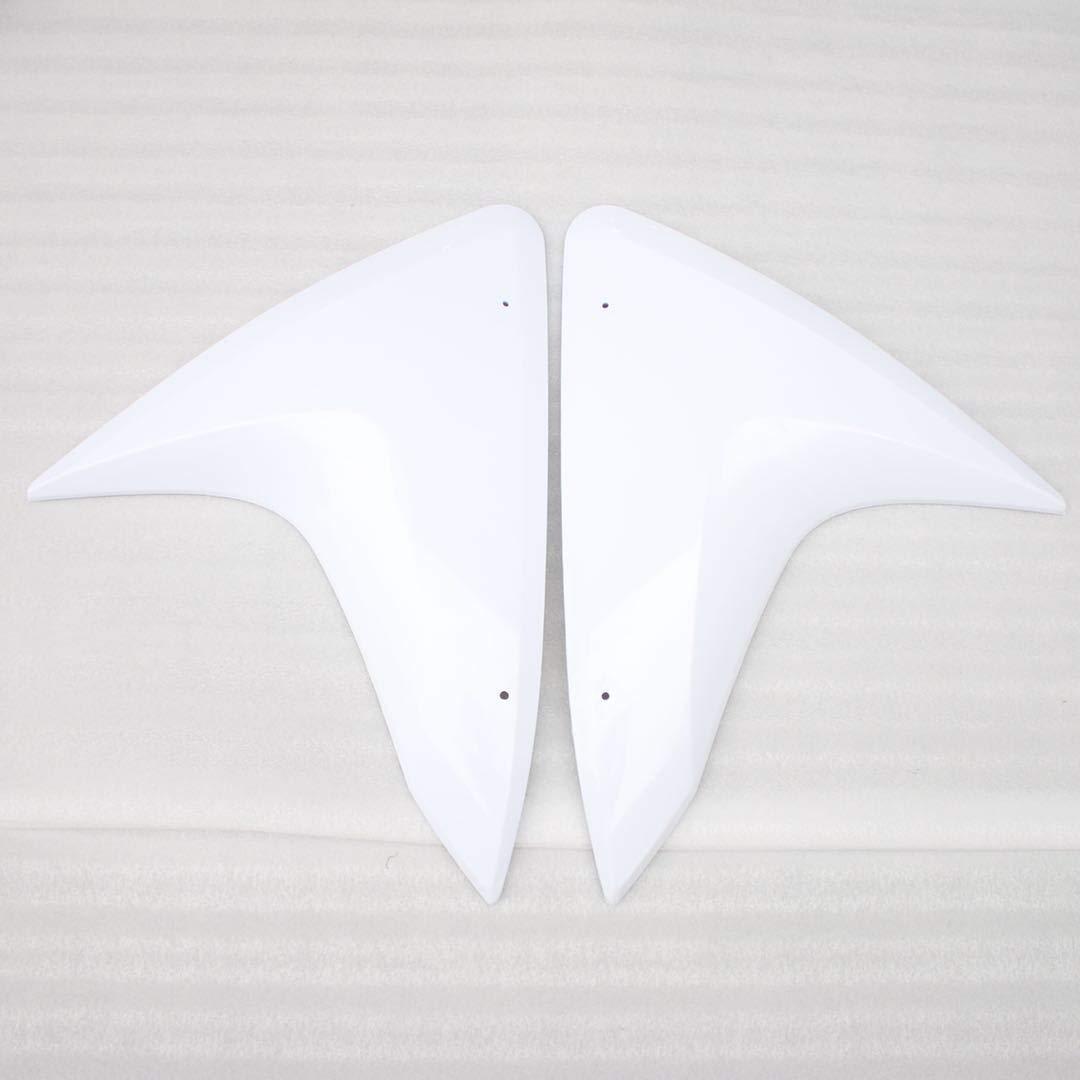 kit completo di carenature preforate in plastica ABS Admoto lavagna bianca non verniciata per Yamaha R125 2014-2018