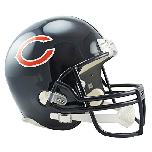 (Chicago Bears Officially Licensed VSR4 Full Size Replica Football Helmet)