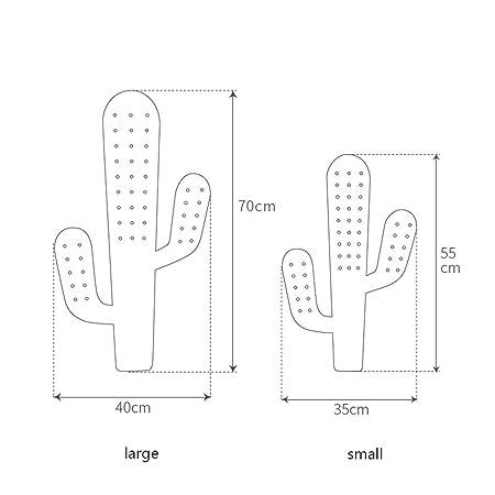 Amazon.com: Perchero de pared para cactus, perchero de goma ...