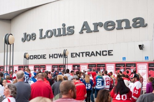 JOE LOUIS ARENA GLOSSY POSTER PICTURE PHOTO BANNER jla detroit red wing det