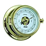 Weems and Plath Endurance II 115 Open Dial Barometer, Brass