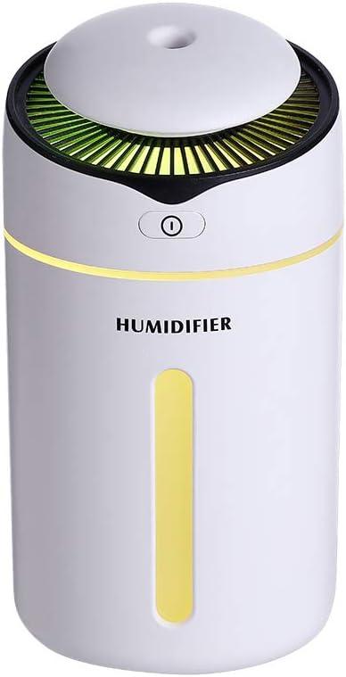 YWXR Ultrasónica Humidificador Coche Carga Creativo USB Mini Luz ...