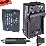 BM Premium DMW-BCM13E Battery and Battery Charger for Panasonic Lumix DMC-FT5A, DMC-LZ40, DMC-TS5, DMC-TS6, DMC-TZ37, DMC-TZ40, DMC-TZ41, DMC-TZ55, DMC-TZ60, DMC-ZS27, DMC-ZS30, DMC-ZS35, DMC-ZS40, DMC-ZS45, DMC-ZS50 Digital Camera