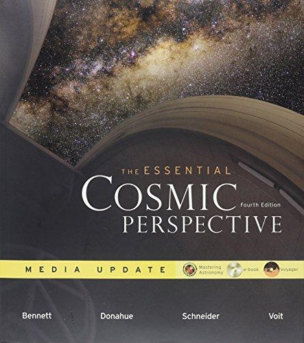 The Essential Cosmic Perspective; Media Update