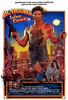 Big Trouble in Little China POSTER Movie (27 x 40 Inches - 69cm x 102cm) (1986)