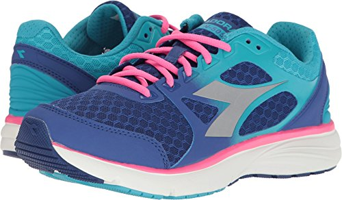 Womens Run 505 Ultramarine/Pink Fluo Athletic Shoe Diadora Konstrukteur Sx0XpQSGb