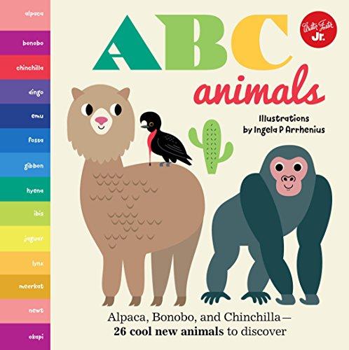 Abc Animals - Little Concepts: ABC Animals: Alpaca, Bonobo, and Chinchilla - 26 cool new animals to discover