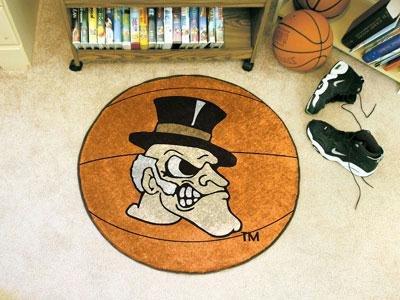 - Fanmats Wake Forest University Basketball Mat - 617