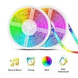 Best Led Light Strips - Led Strip Lights Sync to Music, Tasmor 32.8ft Review