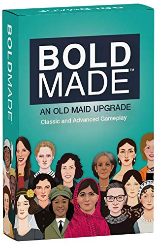 Bold Made - The Wildly Popular Old Maid Upgrade Card Game Co Created by a 9 Year Old
