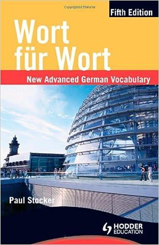 German essay-writing vocabulary