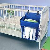 Diaper Caddy Organizer Baby Car Organizer Nursery Storage for Pack n Play or Cribs Newborn Necessities by Olga Baby