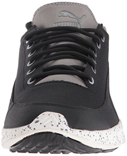 Calzino Ignite da uomo Winter Tech Fashion da uomo, Puma Black-Steel Grey, 10 M US