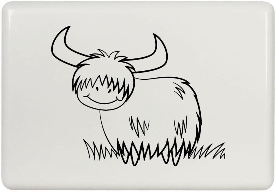 Azeeda 'Highland Cow' Fridge Magnet (FM00009902)