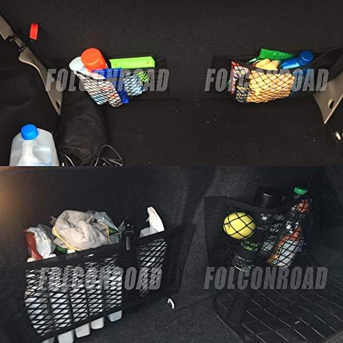 FOLCONROAD Kofferraum-Aufbewahrungsnetz f/ür Autos LKW 2 St/ück