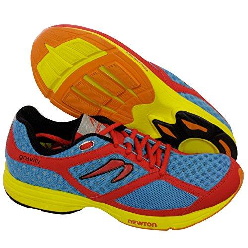 Newton Gravity Men's Running Shoes Red/Blue 9 M