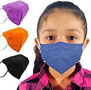M95c Disposable 5-Layer Efficiency Protective Kids Face Mask Breathable Material and Comfortable Earloop Made