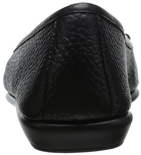 Aerosoles Women's High Bet Ballet Flat Black Leather e8VMSux7i