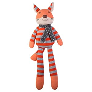 Organic Farm Buddies Plush Toy (Frenchy Fox)
