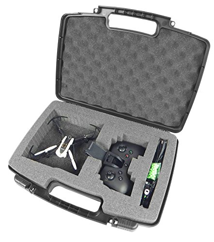 New launch CASEMATIX Mini Drone Onerous Carry Case Matches Parrot Mambo Drone , Cannon , Grabber , Parrot Flypad Minidrone Controller , Propellers , Battery Charger , Hulls and Extra Small Equipment  Evaluations