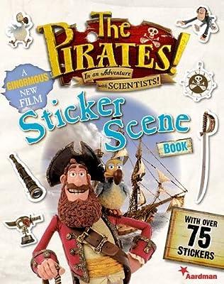 book cover of Pirates! Sticker Scene Book