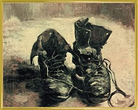 Vincent van Gogh Ein Paar Schuhe Poster online bestellen