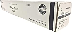 Genuine Original Canon GPR-53 Black Toner Cartridge. 36,000 Yield. (8524B003AA) for Use in: Canon ImageRunner Advance C3325/C3325i/C3330/C3330i. (8524B003, GPR53)
