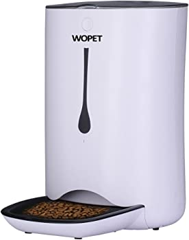 Wopet Automatic Pet Feeder for Cats and Dogs Features