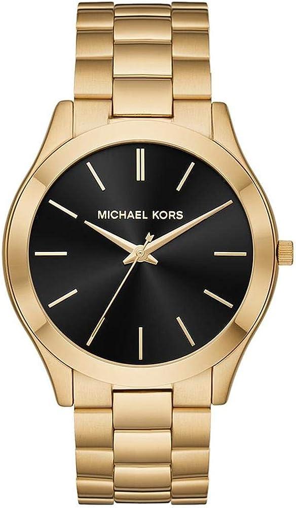 Michael Kors Reloj Analógico para Hombre de Cuarzo con Correa en Acero Inoxidable