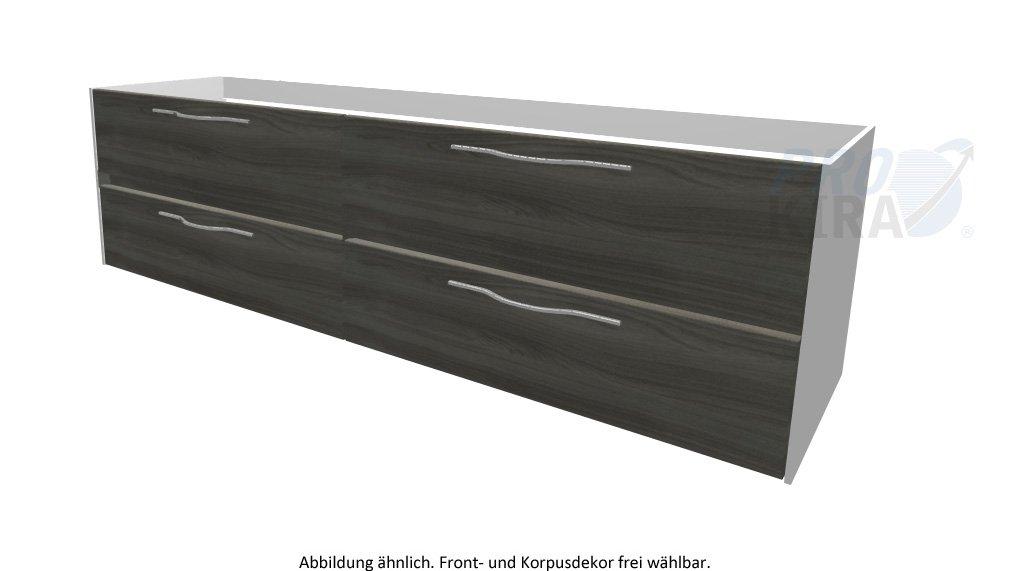 PELIPAL SOLITAIRE 6010 Waschtischunterschrank / WTUSL 09 / Comfort N / 182x51,2x49,3cm