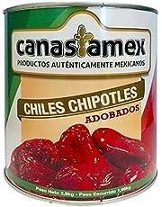 CHILE CHIPOTLE ADOBADO 2800g - CANASTAMEX