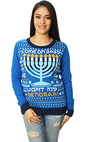 Ugly Christmas Sweater Light My Menorah
