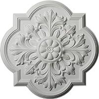 Ekena Millwork CM20BO 20-Inch OD Bonetti Ceiling Medallion by Ekena Millwork