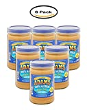 PACK OF 6 - Adams Creamy 100% Natural Peanut Butter, 36 oz
