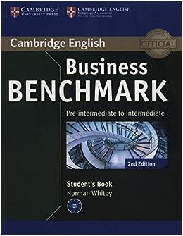 Book Business Benchmark Pre-intermediate to Intermediate BULATS Student's Book (Cambridge English)