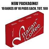 100 Nespresso Compatible Italian Expresso Capsules DELICITALY (Lungo)