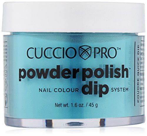 Cuccio Pro Powder Polish Dip – Jade Green – Nail Lacquer for Manicures & Pedicures, Easy & Fast Application/Removal – No…