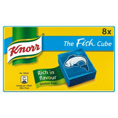 Knorr Fish Stock Cubes 8 Pack (Knorr Stock Cubes)