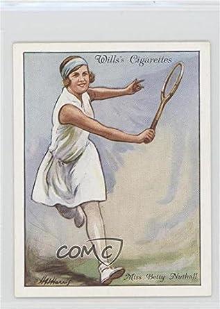 c84814b2bd889 Amazon.com: Betty Nuthall (Trading Card) 1931 Wills Lawn Tennis ...