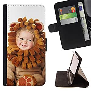 - Cute Baby Wear - - Monedero PU titular de la tarjeta de cr????dito de cuero cubierta de la caja de la bolsa FOR Apple Iphone 6 PLUS 5.5 RetroCandy