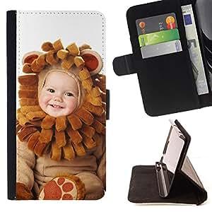 - Cute Baby Wear - - Monedero PU titular de la tarjeta de cr????dito de cuero cubierta de la caja de la bolsa FOR Apple Iphone 6 RetroCandy