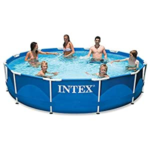 Intex 12ft X 30in Metal Frame Pool Set with Filter Pump